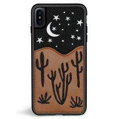 ZG Embroidered Case for iPhone X/Xs - Nightsky