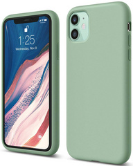 ELAGO Silicone Case for iPhone 11 - Pastel Green