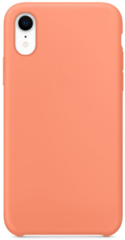 Original Silicone Case for iPhone Xr - Peach