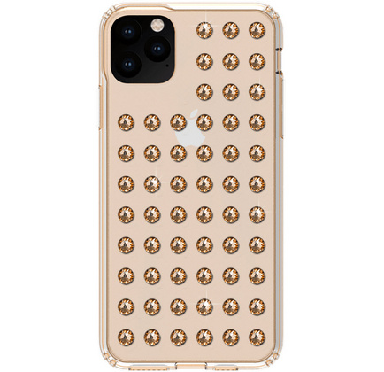 BMT Extravaganza Clear case for iPhone 11 PRO Max - Gold