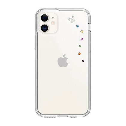 BMT Papillon Clear case for iPhone 11 - Cotton Candy