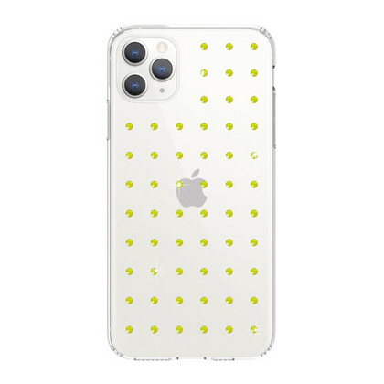 BMT Extravaganza Clear case for iPhone 11 PRO - Neon Yellow