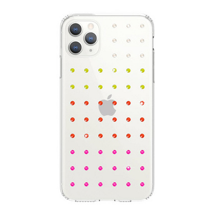 BMT Extravaganza Clear case for iPhone 11 PRO Max - Neon Gradation
