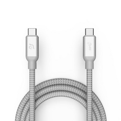 Adam Elements USB-C to USB-C Cable (3.1 - 2. Gen) - Silver