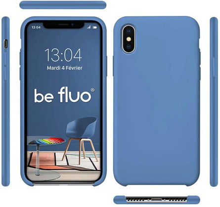 Moxie Original Silicone Case for iPhone Xs Max - Blue