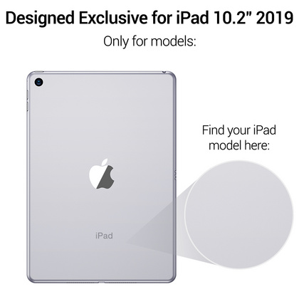 Sdesign Yippee Shell Case for iPad 10.2'' 2019 - Clear