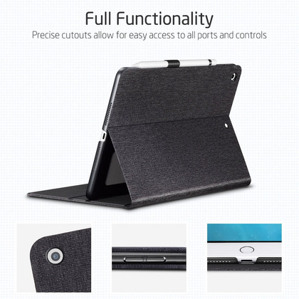 Sdesign Simplicity Case for iPad 10.2'' 2019 - Black