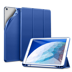 Sdesign Silicone Case with Apple Pencil holder for iPad 10.2'' 2019 - Blue