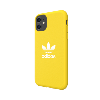 Adidas Moulded Case for iPhone 11 - Yellow