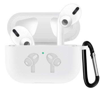 Sdesign Airpods Pro Hang Silicone Case - White