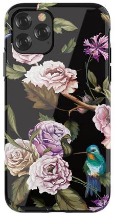 DEVIA Flowers Case for iPhone 11 PRO - Black