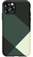 DEVIA Grid Case for iPhone 11- Green