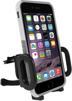 Macally Car cup holder mount with gravity phone holder
