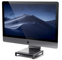 Satechi Type-C Aluminum Monitor Stand/Hub - Space Gray