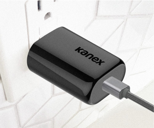 Kanex GoPower PPS USB-C Power adapter - Black