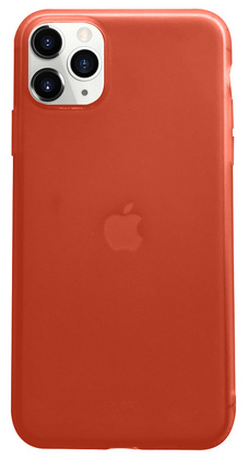 Liquid Silicone Soft case for iPhone 11 PRO Max - Red
