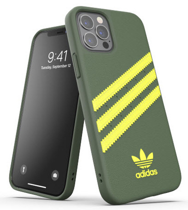 Adidas Moulded Case for iPhone 12 PRO Max - Green