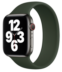 Sdesign Silicone Loop Strap 42 | 44 mm - Pine Green