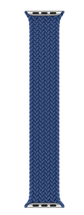 Stoband Braided Loop Strap 42 | 44 mm - Blue