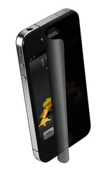 Wrapsol privacy screen protector film for iPhone 4/4S